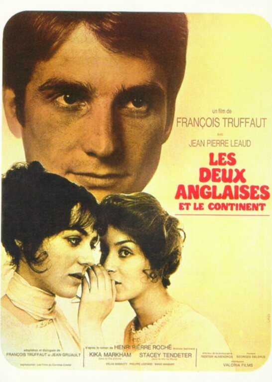 "poster for ""Deux Anglaises et le Continent (Two English Girls)"" by Fran�ois Truffaut(1971)"