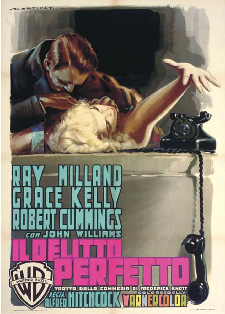 "poster for ""Dial M For Murder&quot"