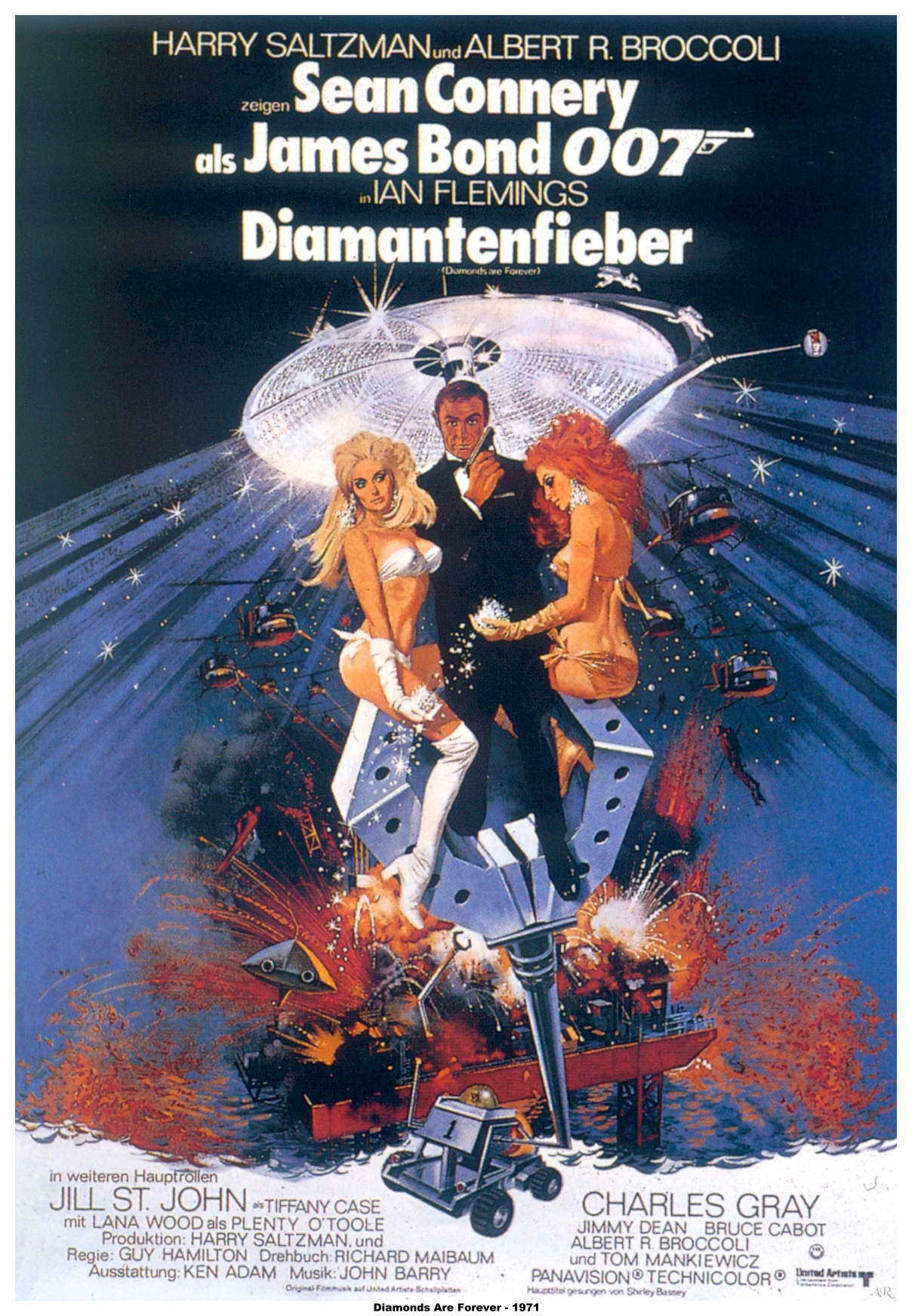 "poster for ""Diamonds Are Forever&quot"