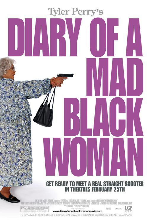 "poster for ""Diary of a Mad Black Woman&quot"