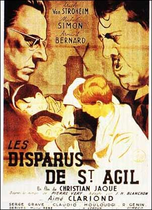 "poster for ""Disparus de St Agil, Les"""