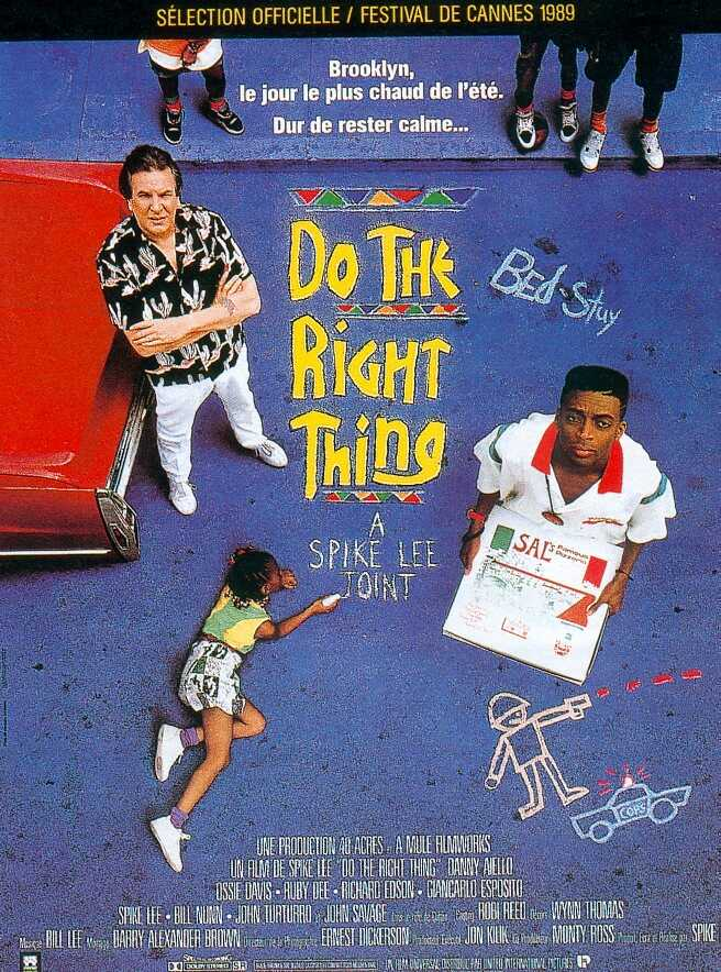 "What is the meaning of the ending of ""Do the Right Thing"""