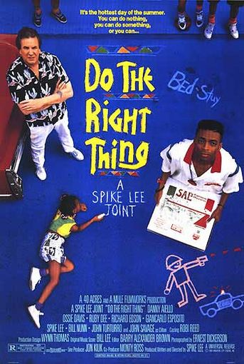 "poster for ""Do the Right Thing&quot"
