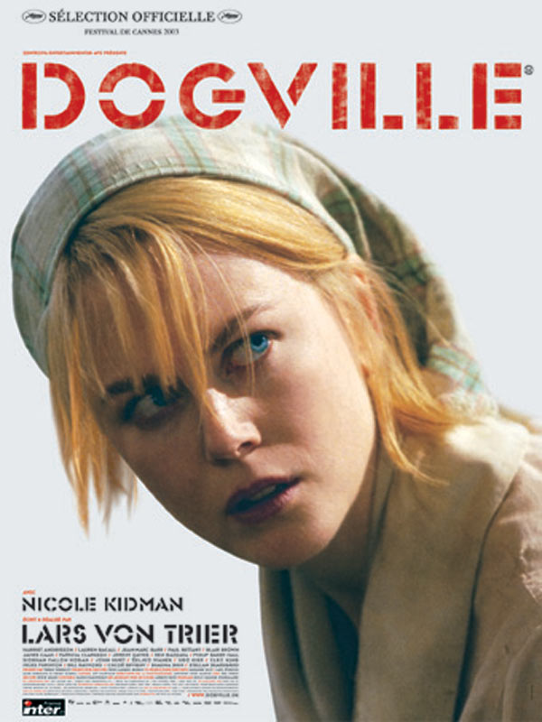 "poster for ""Dogville"" by Lars von Trier(2003)"