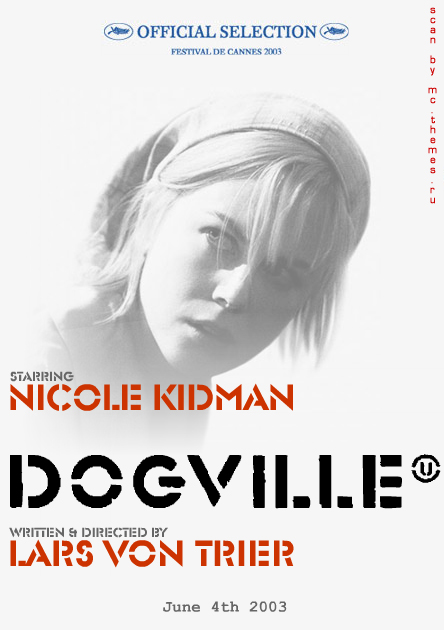 "poster for ""Dogville&quot"
