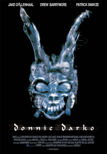"poster for ""Donnie Darko"" by Richard Kelly (II) (2001)"