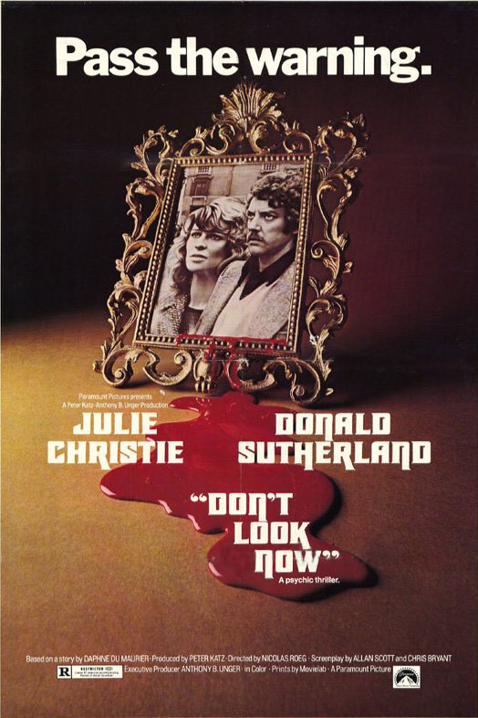 "poster for ""Don't Look Now"" by Nicolas Roeg(1973)"