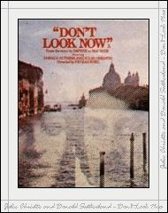 "poster for ""Don't Look Now&quot"