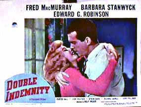 "poster for ""Double Indemnity"""