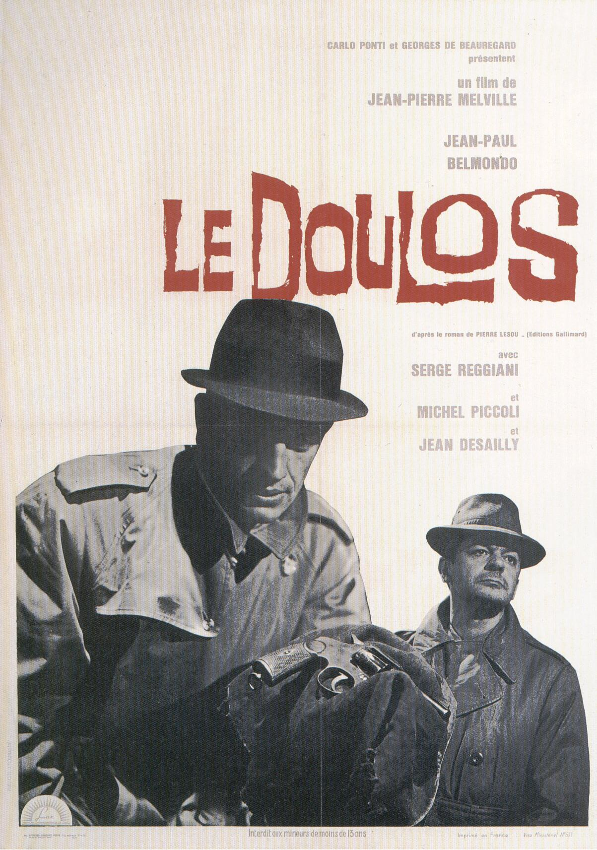 "poster for ""Doulos, Le (the Finger Man)&quot"