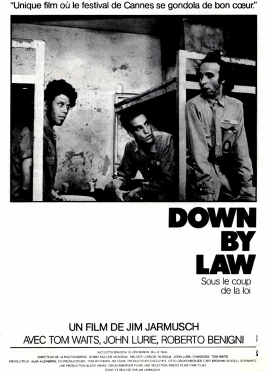 "poster for ""Down By Law&quot"
