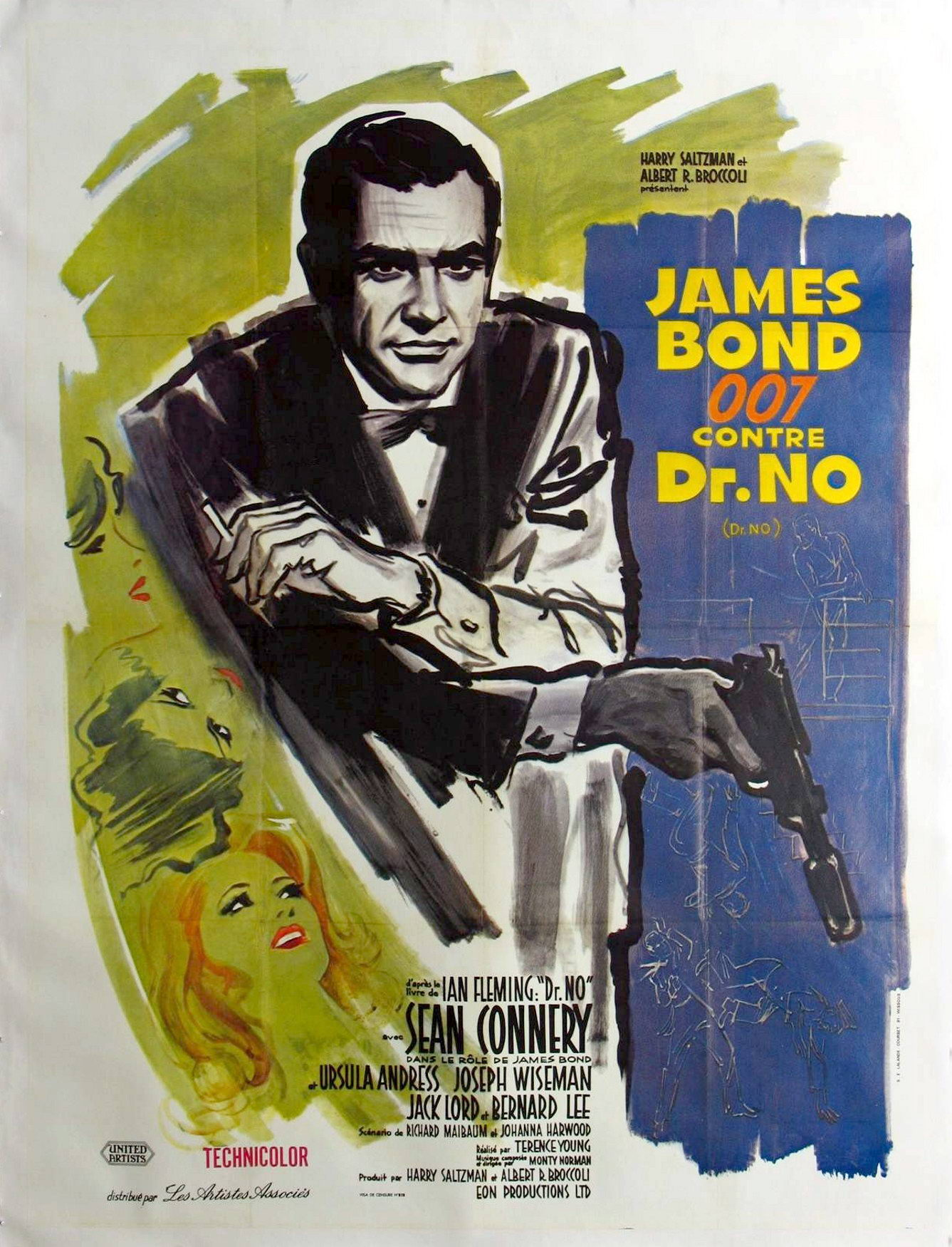 "poster for ""Dr No"""