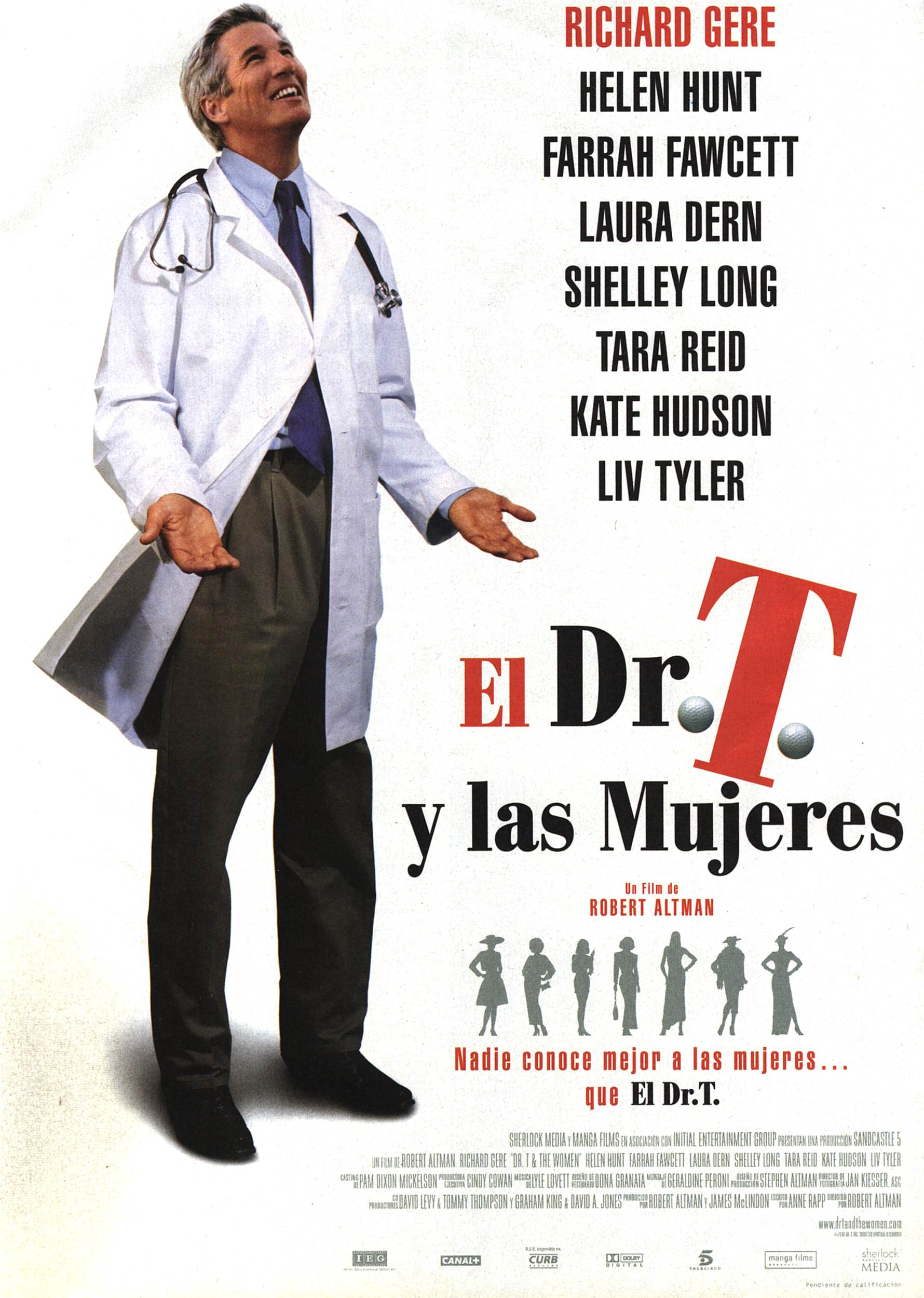 "poster for ""Dr T and the Women&quot"