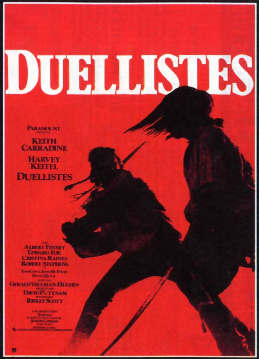 "poster for ""Duellists, The"" by Ridley Scott (1977)"