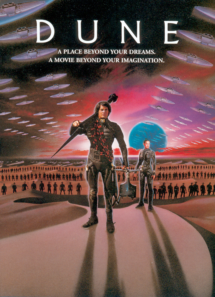 "poster for ""Dune"" by David Lynch(1984)"