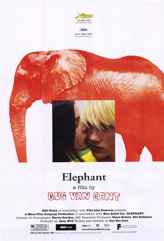 "poster for ""Elephant"" by Gus Van Sant (2003)"