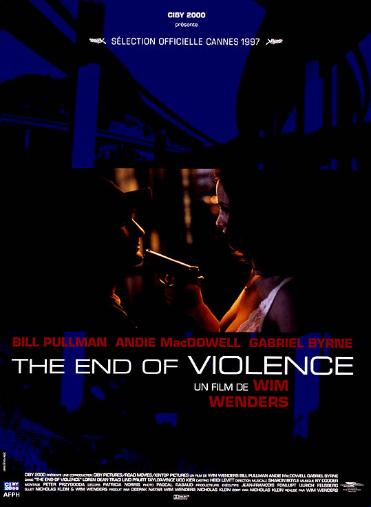 "poster for ""End of Violence, The"" by Wim Wenders (1997)"