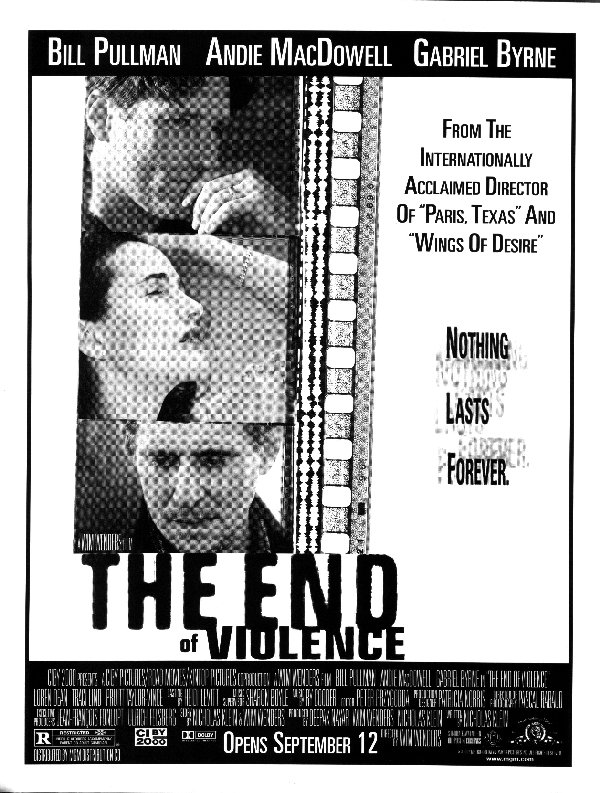 "poster for ""End of Violence, The"""
