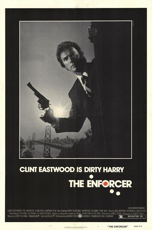 "poster for ""Enforcer, The"" by James Fargo (1976)"