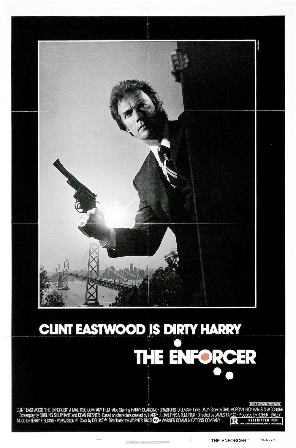 "poster for ""Enforcer, The&quot"
