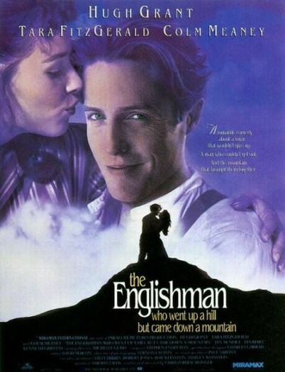 "poster for ""Englishman Who Went Up a Hill But Came Down a Mountain, The"" by Christopher Monger (1995)"