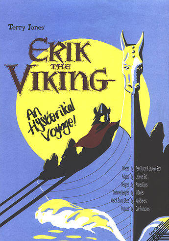 "poster for ""Erik The Viking"""