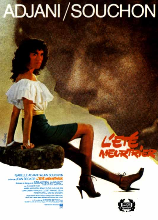 "poster for ""Et� Meurtrier, L'"" by Jean Becker(1983)"