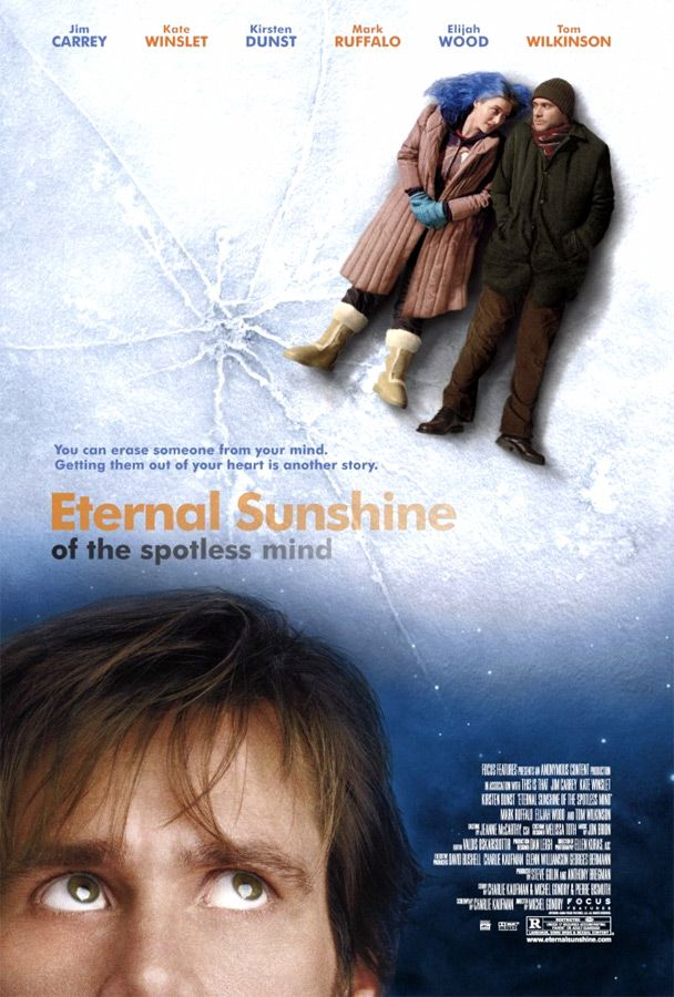 "poster for ""Eternal Sunshine of the Spotless Mind"" by Michel Gondry(2004)"