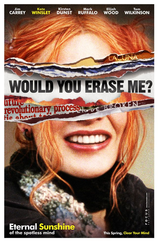 "poster for ""Eternal Sunshine of the Spotless Mind&quot"