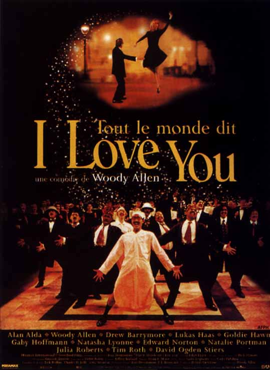 "poster for ""Everyone Says I Love You&quot"