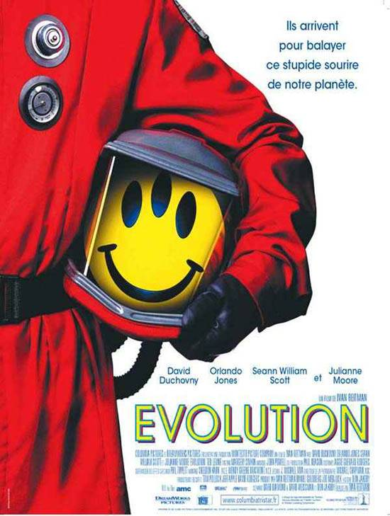 "poster for ""Evolution"""