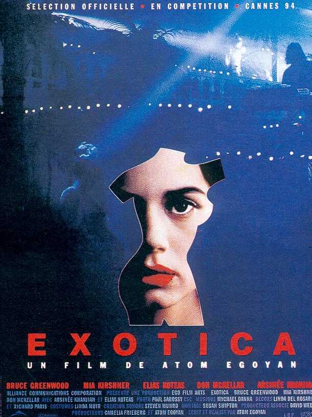 "poster for ""Exotica"" by Atom Egoyan(1994)"