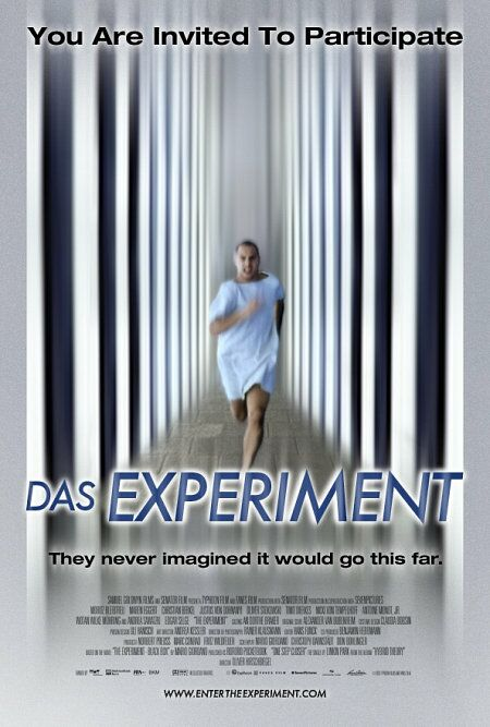 "poster for ""Experiment, Das"" by Oliver Hirschbiegel(2001)"