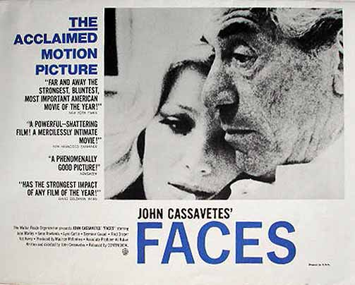 "poster for ""Faces&quot"