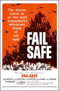 "poster for ""Fail Safe"" by Sidney Lumet (1964)"
