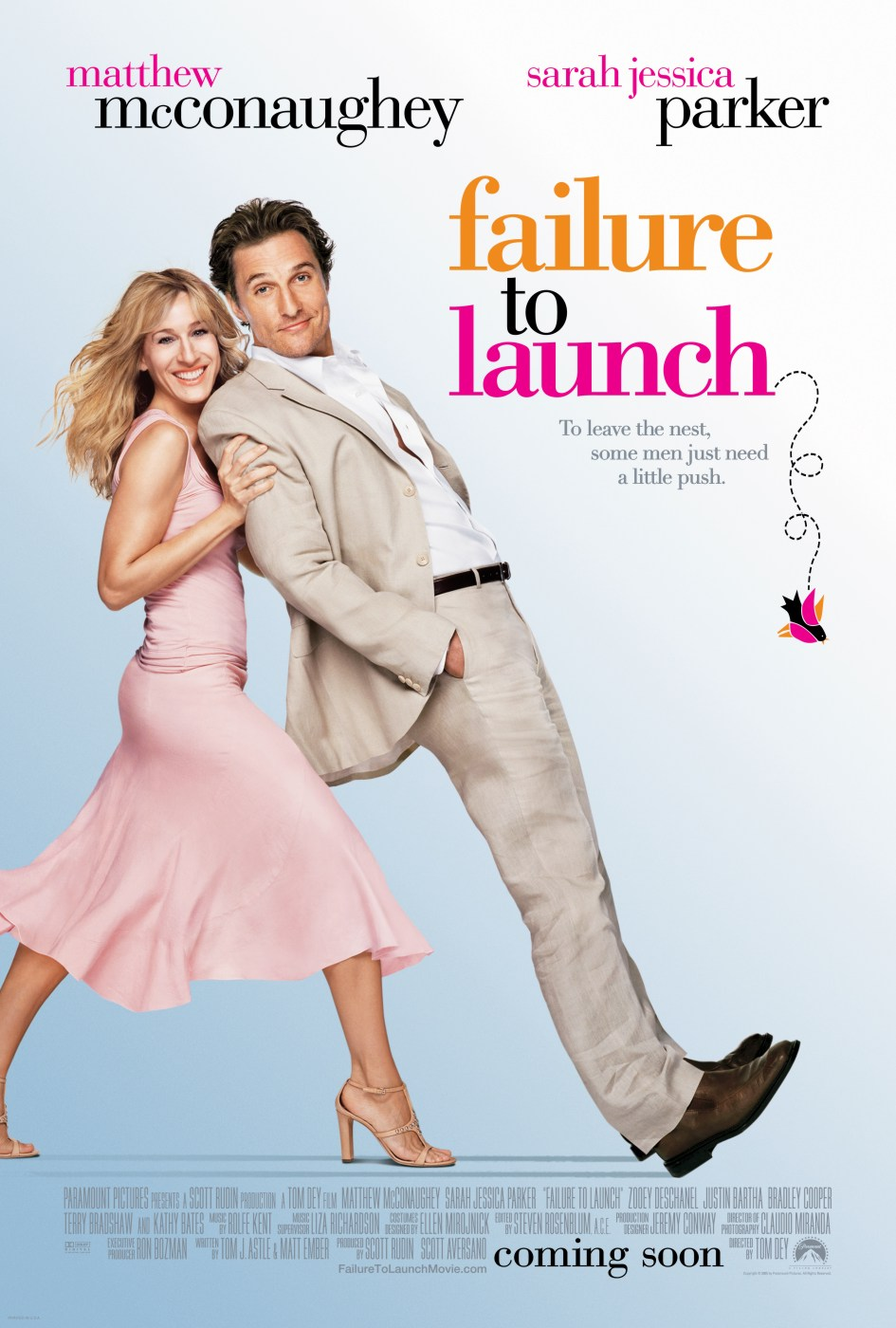 "poster for ""Failure to Launch"" by Tom Dey(2006)"
