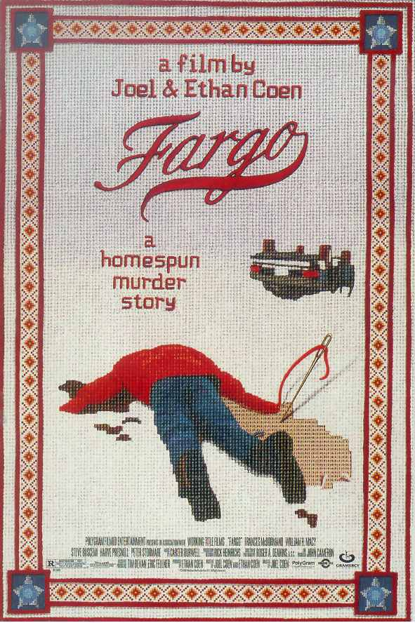 "poster for ""Fargo"" by Joel Coen 