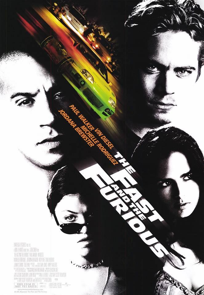 "poster for ""Fast and the Furious, The"" by Rob Cohen(2001)"
