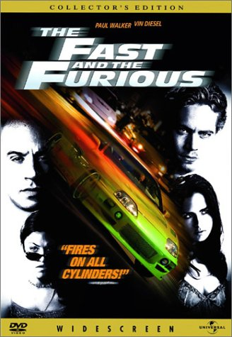 "poster for ""Fast and the Furious, The"""