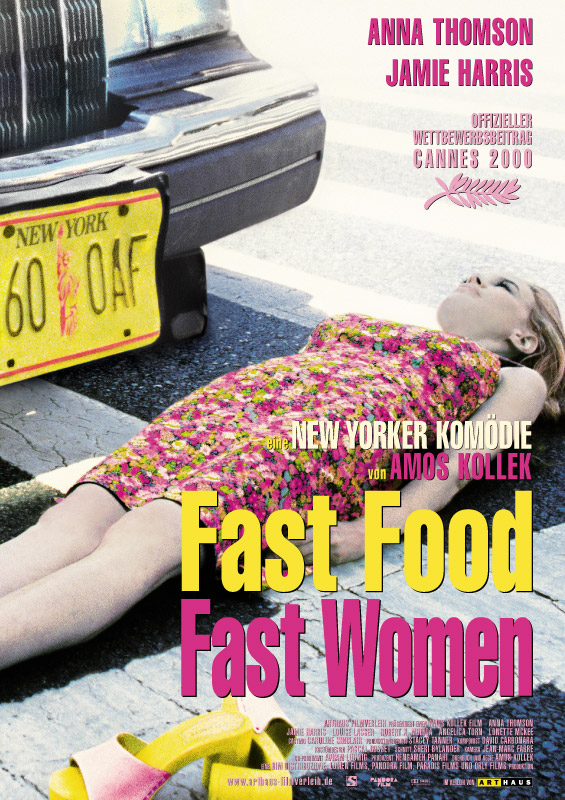 "poster for ""Fast Food, Fast Women"" by Amos Kollek (2000)"