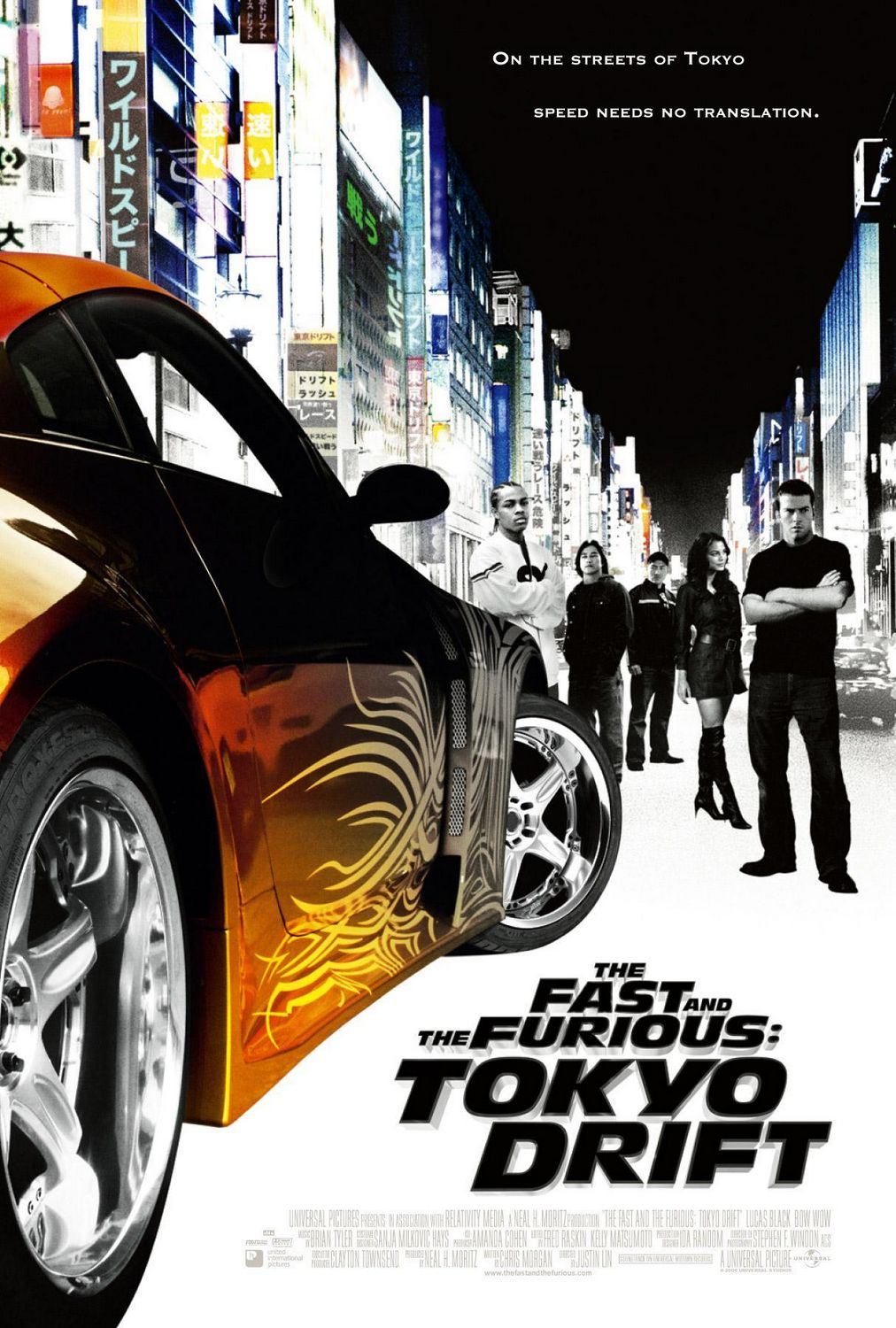 "poster for ""Fast and the Furious: Tokyo Drift, The"" by Justin Lin(2006)"