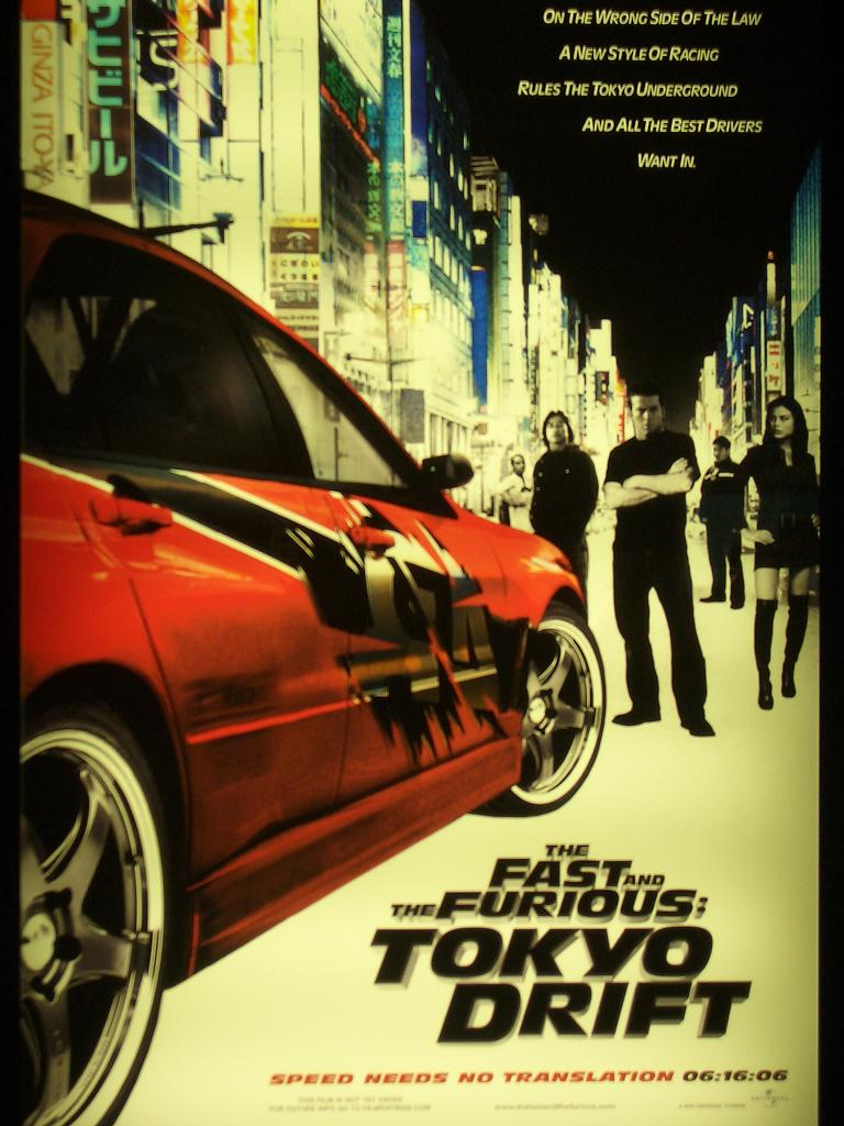 "poster for ""Fast and the Furious: Tokyo Drift, The&quot"