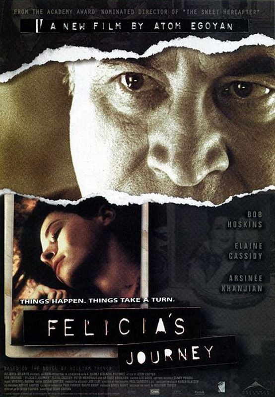 "poster for ""Felicia's Journey"" by Atom Egoyan(1999)"