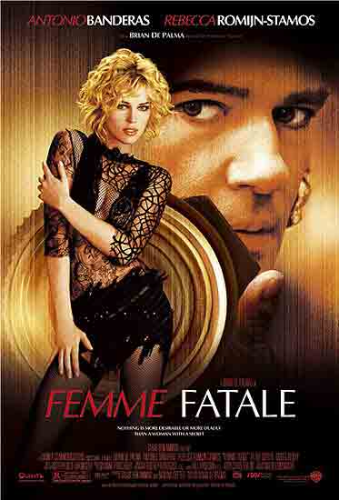 "poster for ""Femme Fatale"" by Brian De Palma (2002)"