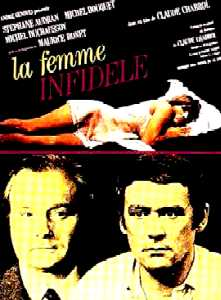 "poster for ""Femme infid�le, La"" by Claude Chabrol(1969)"