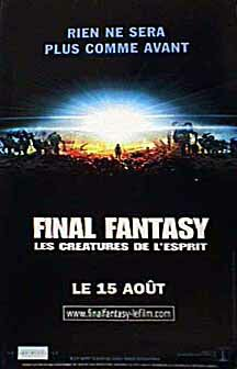"poster for ""Final Fantasy, the Spirit Within&quot"