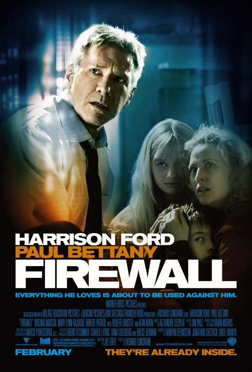 "poster for ""Firewall"" by Richard Loncraine (2006)"