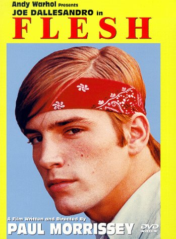 "poster for ""Flesh"" by Paul Morrissey (1968)"