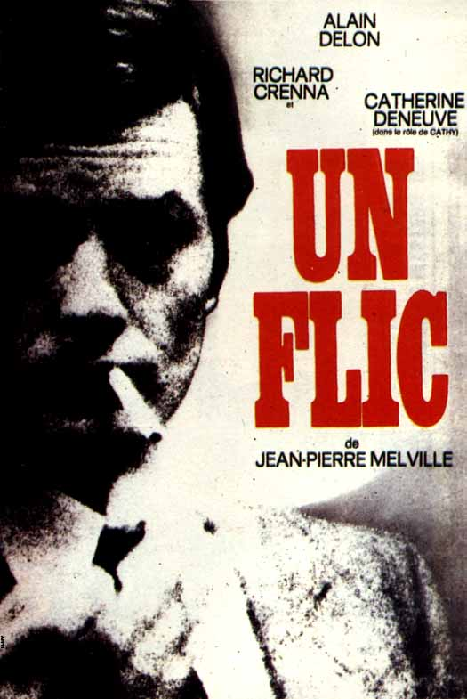 "poster for ""Flic, Un (Dirty Money (US))"" by Jean-Pierre Melville(1972)"
