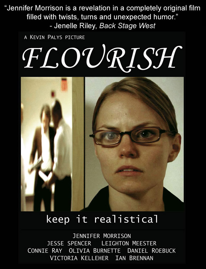 "poster for ""Flourish"" by Kevin Palys (2006)"
